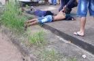 Adolescentes criminosos são detidos por motociclista após roubarem celular em Porto Velho