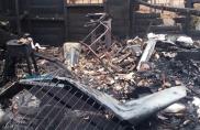 Fogo destrói casa em Alta Floresta e há suspeita de incêndio criminoso