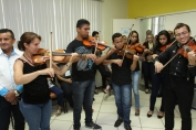 Escola de música Som na Leste será climatizada pela prefeitura com recurso de emenda parlamentar