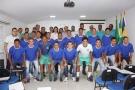 União Cacoalense apresenta atletas, uniforme e recebe apoio do Município