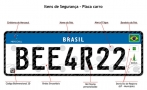 Denatran divulga lista de fabricantes de placas de veículos padrão Mercosul; Uma é de Rondônia