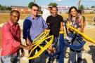 Ezequiel Júnior participa da entrega de academias ao ar livre em três municípios e um distrito
