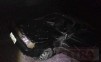 Bebê de 2 anos morre e três pessoas ficam feridas após carro capotar no interior