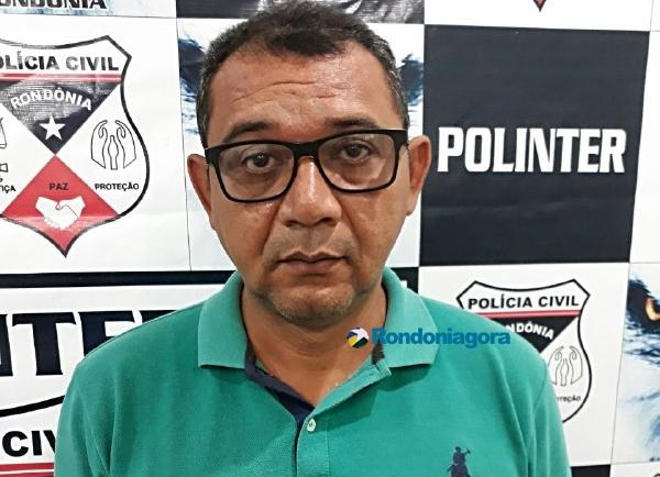 Ex-dirigente de partido é preso em Porto Velho após condenação definitiva por ter abusado da filha de 13 anos