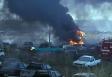 Em menos de 15 dias, novo incêndio destrói mais de 60 veículos no depósito da Polícia Civil; vídeo
