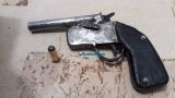 Menores são flagrados com arma e confessam que iriam roubar motos na Zona Leste