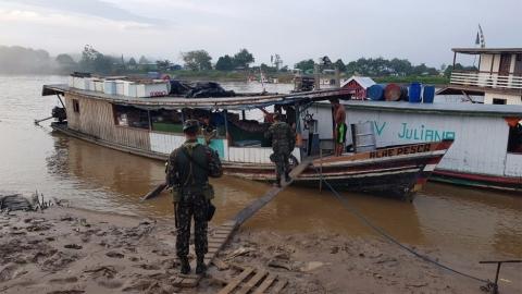 Exército intensifica fiscalização nas fronteiras para combater crimes em Rondônia e no Acre