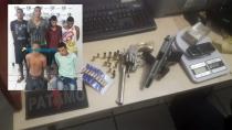 Bando é preso após trocar tiros com a PM; menor confessa que matou desafeto há quatro dias