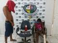 Após denúncia, Polícia prende irmãos com cocaína em Porto Velho