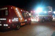 Curto-circuito causa princípio de incêndio em Porto Velho