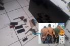 Bando rende família, assalta residência e acaba preso Porto Velho