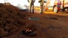 Morre motociclista que teve o corpo queimado durante explosão