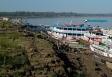 Nível do Rio Madeira recua 11 metros em três meses em Porto Velho; Dnit retoma dragagem para manter navegação