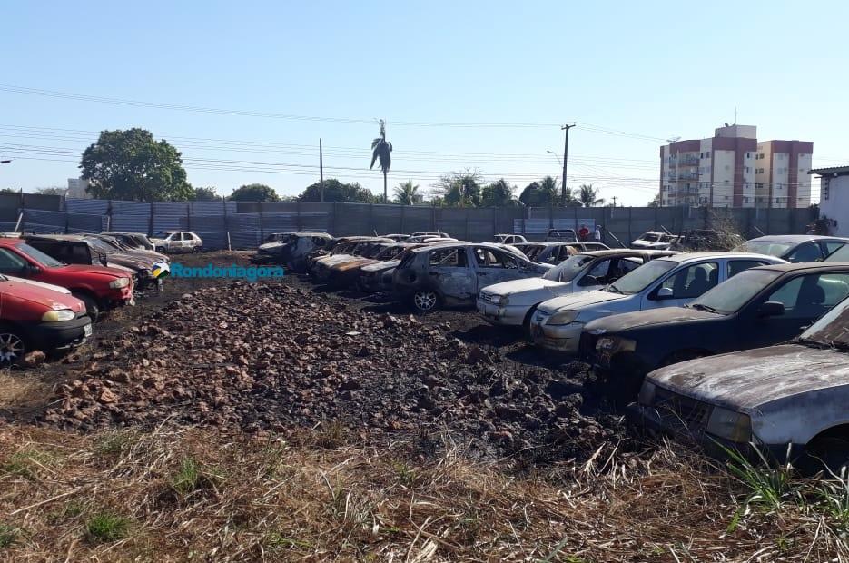 Polícia Civil abre inquérito para investigar causas de incêndios em depósitos de veículos na Capital