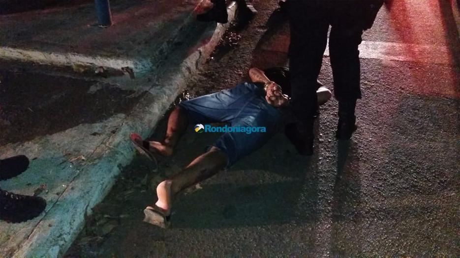 Bando é perseguido e preso pela PM após executar homem no Centro da  Capital
