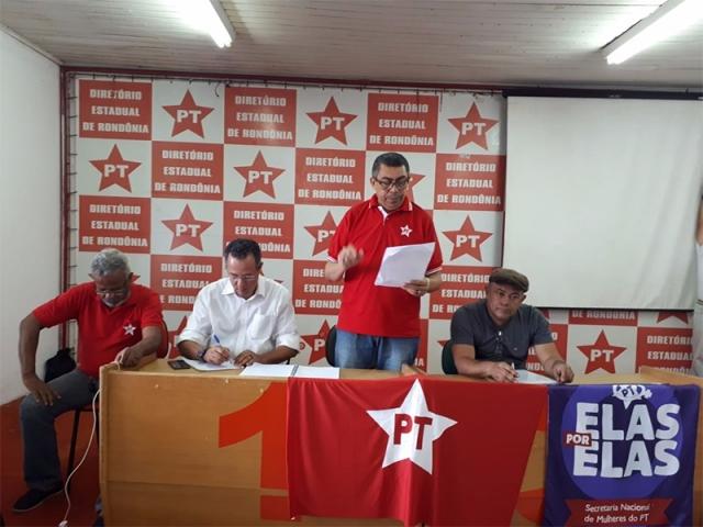 Decisão do PT de Rondônia foi amplamente discutida e teve apoio da base, diz Padre Tom
