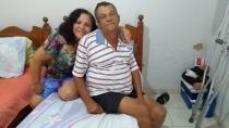 Em tratamento médico há mais de 2 meses, idoso lamenta passar Dia dos Pais longe dos filhos