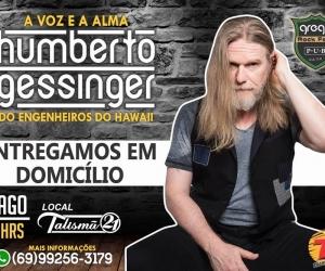 Ganhe ingressos para o show do Humberto Gessinger nesta sexta-feira, em Porto Velho
