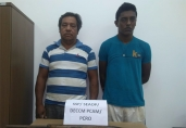 Pai e filho são presos em comunidade rural por crimes contra mulheres