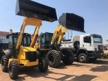 Garçon destina equipamentos pesados para Candeias do Jamari