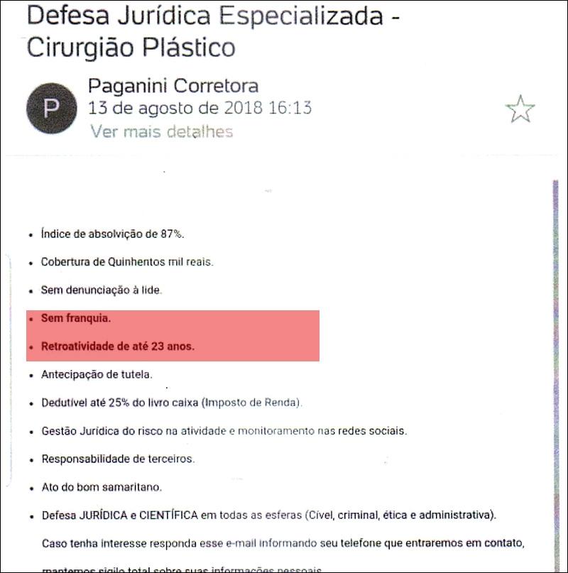 Classe médica é alertada de golpe do seguro oferecido por empresa não inscrita na Susep