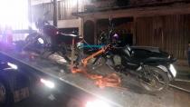 Ao ser preso com moto com placa e chassi adulterados, jovem diz que trocaria veículo por droga