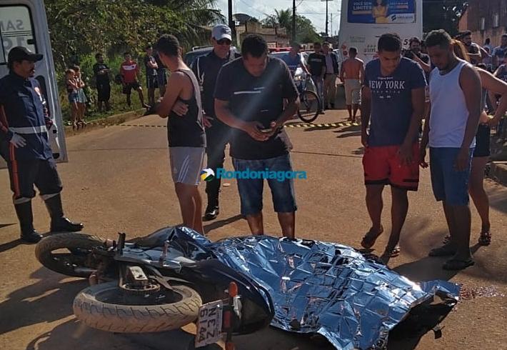 Motorista de ônibus avança preferencial e mata motociclista na Capital