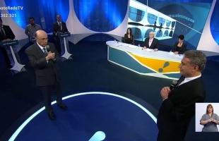 Desemprego e corrupção são temas de destaque em debate entre candidatos à Presidência na RedeTV!
