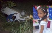 Criança de 7 anos morre em acidente na BR-364