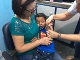 Porto Velho está a menos de 6% para atingir meta de vacinação contra sarampo e pólio