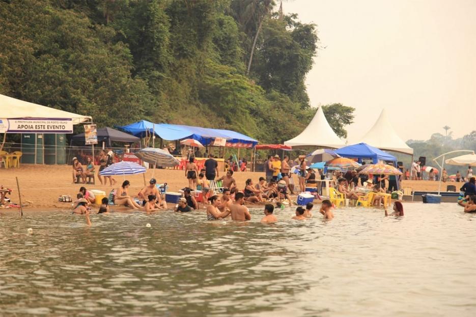 Festival de Praia de Calderita encerra com várias atrações - Geral -  Rondoniagora.com - As notícias de Rondônia e Região