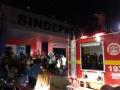 Incêndio no prédio do Sindeprof em Porto Velho; fotos