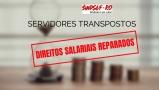 Sindsef ganha ações que garantem direitos salariais dos servidores transpostos
