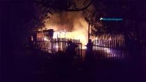 Homem incendeia a própria casa e foge