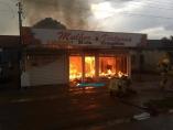 Raio pode ter sido causa de incêndio em loja na Zona Leste de Porto Velho