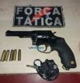 Menor é flagrado com revólver roubado de vigilante de escolas em Porto Velho