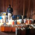 Mais de 8,8 mil litros de combustíveis adulterados são apreendidos pela PRF em Ariquemes