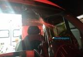 Homem é preso após apedrejar ambulância do Samu na Capital
