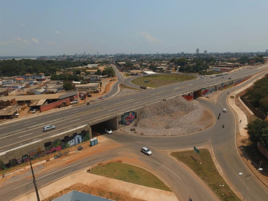 Viaduto da Campos Sales estará iluminado em 6 de outubro, garante prefeitura