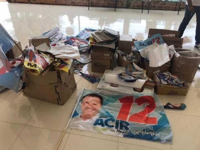 Decisão contra Acir também manda cessar toda manifestação como candidato nas redes sociais