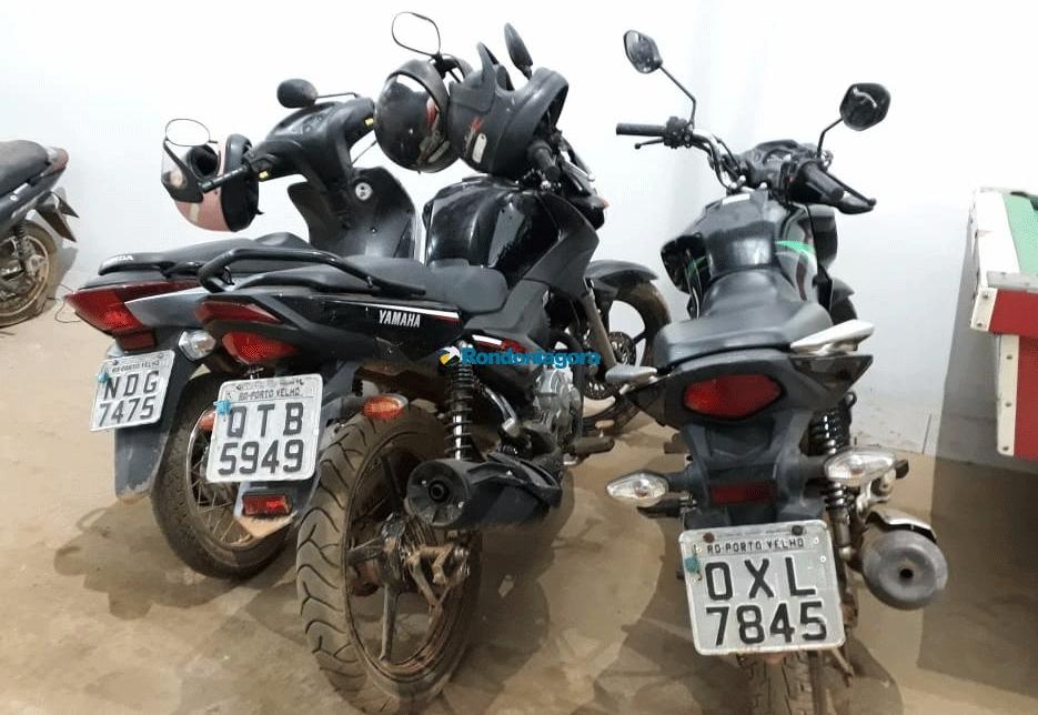 Trio é flagrado na BR-364 transportando motos que seriam trocadas por cocaína em Guarajá-Mirim