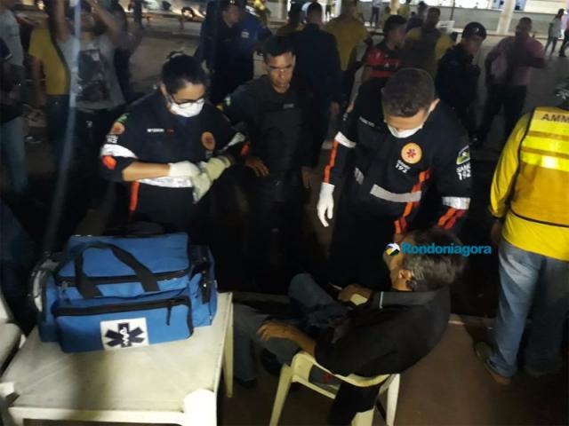 Homem leva facada e fica gravemente ferido em Porto Velho
