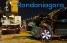 Motorista colide em caminhão parado na BR-364, próximo ao Cemetron