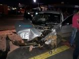 Grave acidente na Duque de Caxias deixa quatro pessoas gravemente feridas