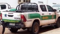 Dois são presos por incêndio a carros do Ibama e PM em Buritis; Na Capital, quase 100 flagrantes são registrados