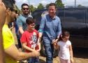 Vídeo ao vivo: Marcos Rocha vota em Porto Velho