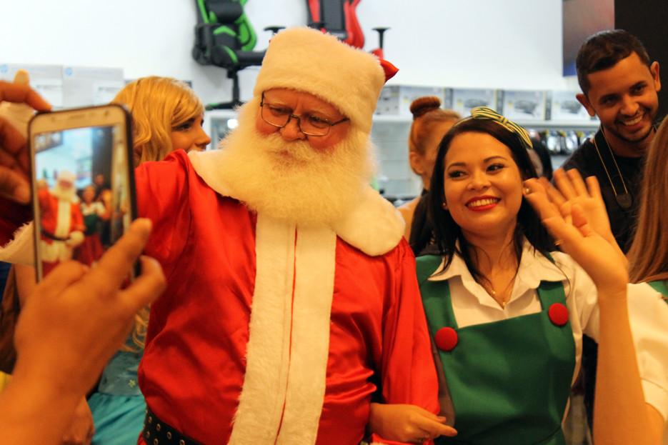 Shopping de Porto Velho recebe Papai Noel e inaugura decoração natalina nesse domingo