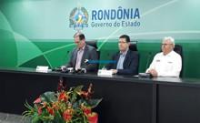 AO VIVO: Governadores Daniel Pereira e Marcos Rocha falam sobre a transição em Rondônia
