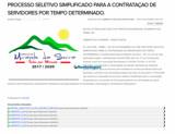 Inscrições para processo seletivo da Prefeitura de Mirante da Serra encerram nesta terça-feira;