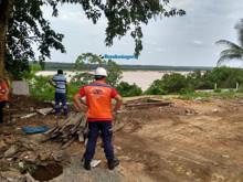 Com riscos de desabamento, antigo Mirante 3 é demolido pela Prefeitura